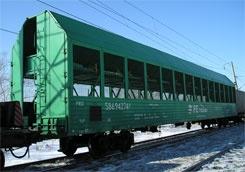 Залізниця пустила автомобілевоз Київ - Ужгород