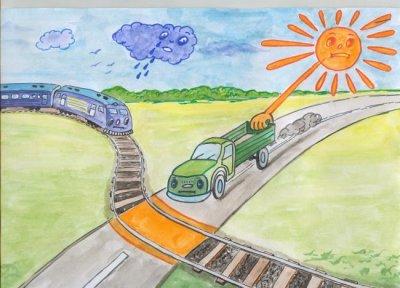 Залізниця нагородить дітей за актуальні малюнки