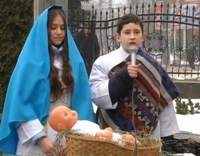 Католики Житомирщини відзначили Різдво. ВІДЕО