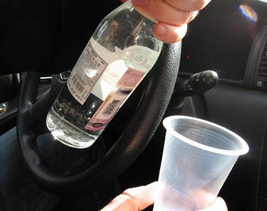 Пьяный водитель за рулем - преступник!