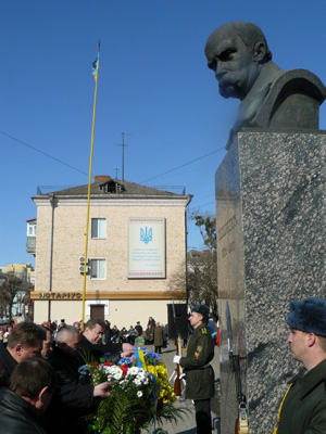 Дебой та заступники Рижука вшанували Шевченка