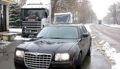 У Бердичеві затримали литовця на німецькому авто