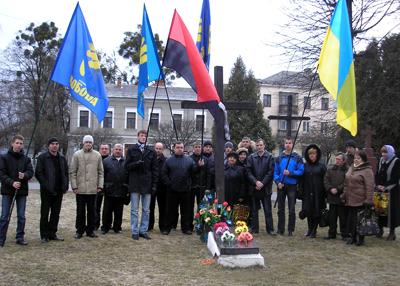 """""""Свобода"""" вшанувала пам'ять Сціборського"""