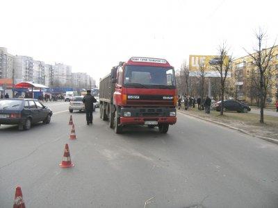 Водій вантажівки покалічив дитину на Богунії
