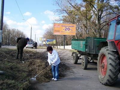 Влада втомилася кликати житомирян на суботники