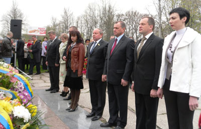 Житомир вшанував пам'ять жертв Чорнобиля