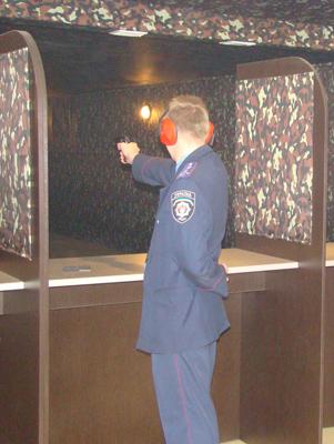 Житомирські міліціонери позмагалися у стрільбі
