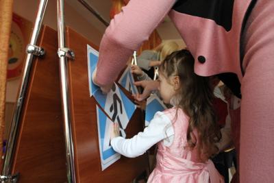 ДАІ навчає дітей ПДР з дитсадочка