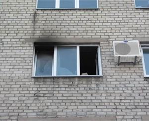 Бійці МНС загасили пожежу та врятували чоловіка
