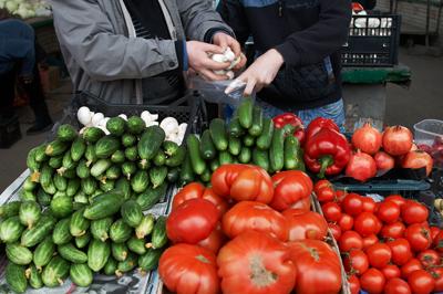 Україна посилила контроль за імпортом овочів із Європейського Союзу