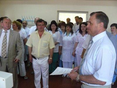 Центральна районна лікарня Житомирської районної ради отримала від обласної влади сучасний рентген-апарат