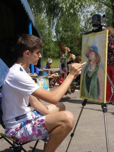 На конкурсі живопису ім. І. Рєпіна юний житомирянин отримав ІІ премію