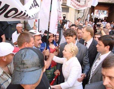 В Києві Тимошенко підтримує більше 1000 житомирян