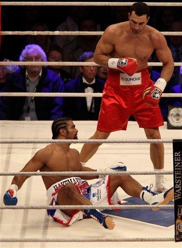Володимир Кличко став абсолютним чемпіоном світу з боксу(ВІДЕО)