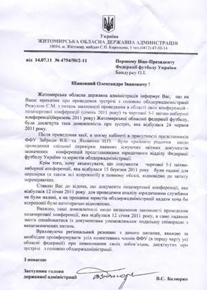 """Рижук не співпрацюватиме з """"футболістом"""" Коцюбко. ФОТО"""