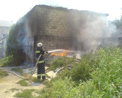На Житомирщині за вихідні зареєстровано 11 пожеж