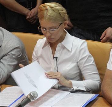 """""""Регіони"""" заявляють, що Захід і журналісти тиснуть на суд над Тимошенко"""