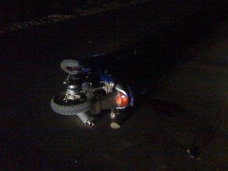 На Житомирщині п'яний водій скутера збив пару молодих людей