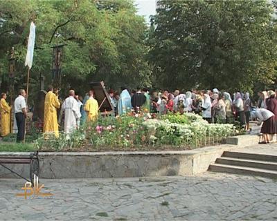 На три години до Бердичева прибула Ікона Матері Божої «Страсна»