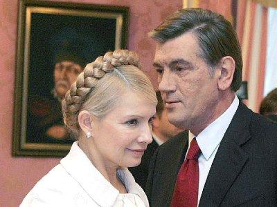 Віктор Ющенко таки прийшов до Печерського суду свідчити у справі Тимошенко