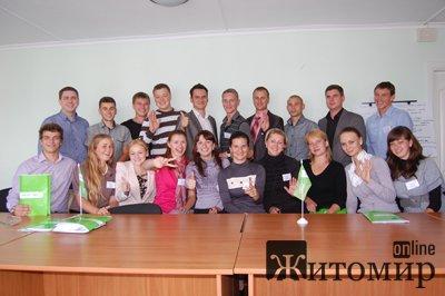 На Житомирщині активізовано розбудову молодіжного крила партії Фронт Змін