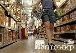 Житомирская область вошла в пятерку областей с максимальным ростом розничного товарооборота
