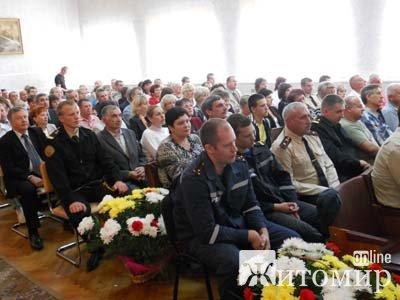 Рятувальники області урочисто відзначили 15 річницю створення МНС України