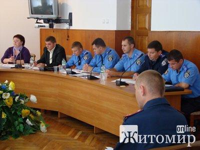 Представники ОБСЄ та правоохоронці Житомирщини обговорили питання протидії торгівлі людьми та попередження насильства в сім'ї