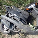 Нічна прогулянка на мопеді закінчилась аварією
