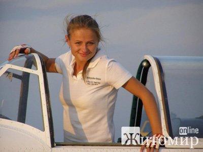 Житомирянка завоювала срібло на Чемпіонаті з літакового спорту