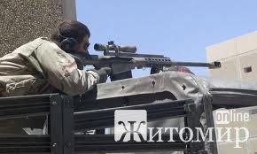 В Бердичеві затримали снайпера?