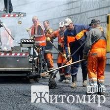 У зв'язку з ремонтом дороги обмежено рух автомобілів на ділянці Київ-Житомир