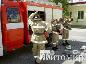 На Житомирщині в пожежі загинув мешканець Молдови