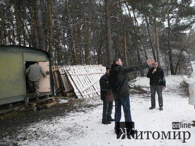 На Корбутівці незаконно вибують ліс. ФОТО