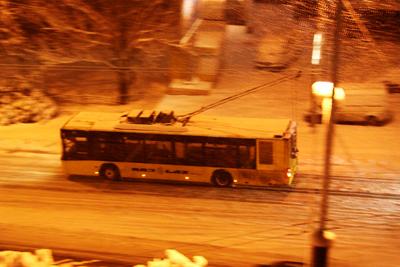 В новорічну ніч міський транспорт їздитиме допізна