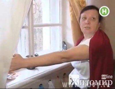 Житомирських чорнобильців на Дніпропетровщині оздоровлюють в коридорах. ВІДЕО