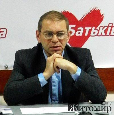 Сергій Пашинський: Комітет опору диктатури ефективно працює лише у Житомирській області