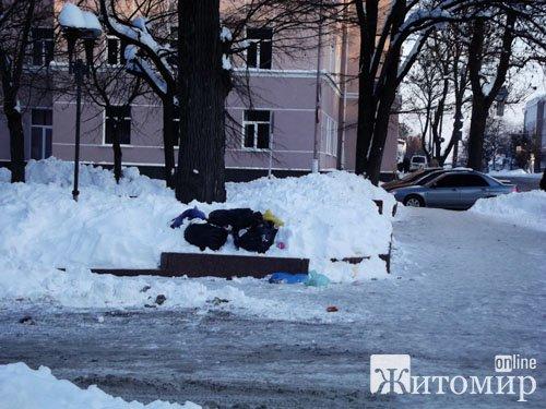 Житомирський парк потопає в смітті. ФОТО