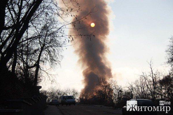 На Житомирщині згоріла церква московського патріархату