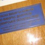 """ВО """"Свобода"""" вимагає розпуску Житомирської обласної виборчої комісії"""