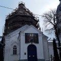 В Житомирі триває реконструкція Успенської церкви. ФОТО
