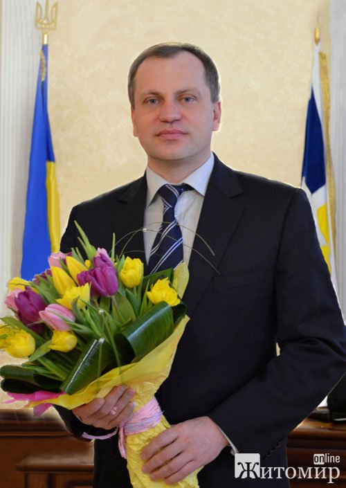 Вітання міського голови Володимира Дебоя з 8 Березня