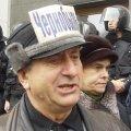 В Коростені зібралися чорнобильці з акцією протесту, а також із зверненням до Президента України та міського голови