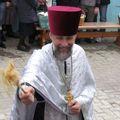 Як святили паски у Михайлівському соборі Житомира. ФОТО
