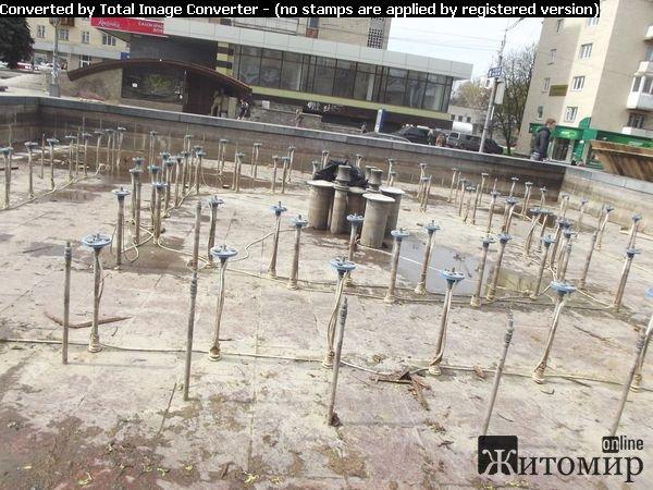 В Житомирі готують до відкриття фонтан «Вірині сльози». ФОТО