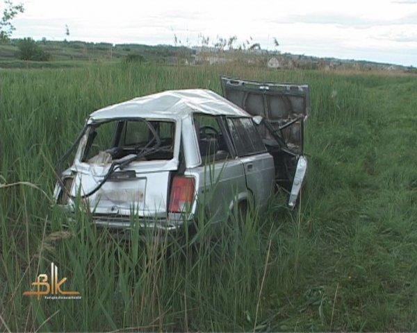 """В Бердичеві водій невпорався з керуванням та """"злетів"""" в кювет. ФОТО"""