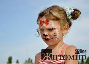 В Житомирі до Дня захисту дітей проходитиме конкурс дитячого боді-арту