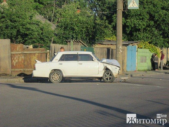 В Житомирі знову сталася аварія. ФОТО