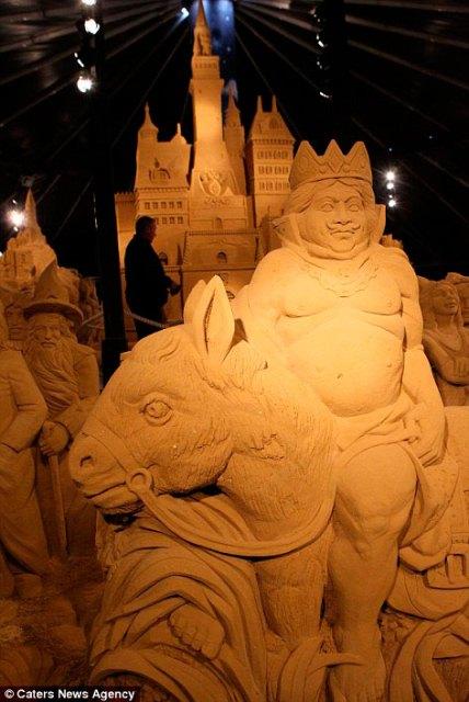 У Бельгії проходить найбільший у світі фестиваль піщаної скульптури