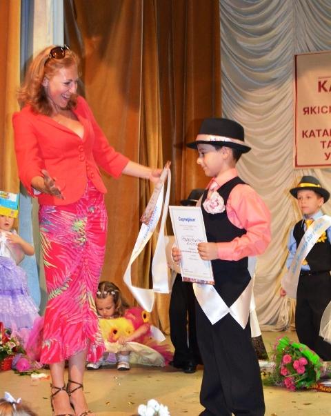 У Житомирі відбувся конкурс краси та талантів «Міні-міс Перлинка та Міні-містер Діамантик – 2012»